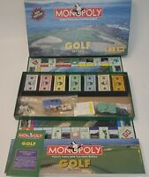Monopoly Golf Edition Family Board Game with Custom Pewter Tokens Parker Brother