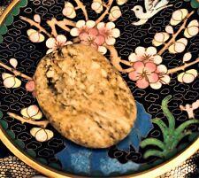 💛 Ocean Spirited Raw Hand Polish Flower Blooming Flowers Eye Agate Energy Stone