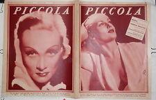 PICCOLA 22 settembre 1936 Carole Lombard Rigaud Gael Hudson Wohlbruck Lanzi di e