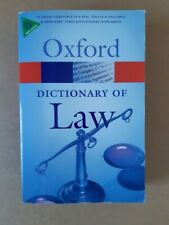 Oxford Quick Reference: A Dictionary of Law, Jonathan