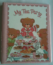"""Children's Personalized Book, """"My Tea Party"""", Gift for Birthday"""