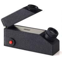 Black Gem Refractometer Gemological Gemstone Built-in LED Light Source +