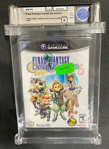 Final Fantasy: Crystal Chronicles (Nintendo GameCube) NEW SEALED WATA 9.6 A