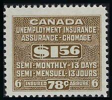 Van Dam FU35: SCARCE $1.56 Unemployment Insurance stamp, F-VF-NH, Cat. $225.00