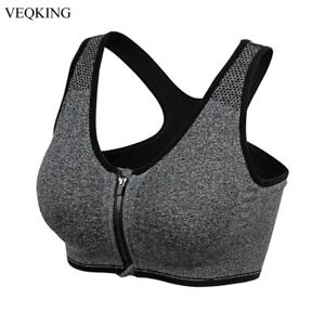She Ultimate Fit Top Yoga Sports Bra Adjustable High Impact Spandex Push Up Bras