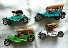 VTG MATCHBOX Models of Yesteryear LOT Y9 Y14 Y4 Y12 Simplex Opel Flyabout Maxwel