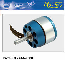 Flyware Brushless  Motor microREX 220-6-2000 *NEU