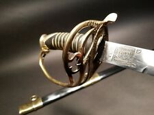 Antique Style Shelby Officers Confederate Cs Sword
