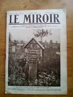 JOURNAL LE MIROIR N°197 - 2 9 1917 - WILHEM KAISER