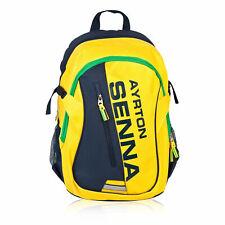 Ayrton Senna Helmet Backpack Mens Fanatics Free UK Ship