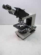 Bausch Amp Lomb Balplan Binocular Microscope 3 Objective Lenses 100x 40x 10x
