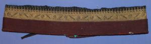 Antique Hand Made Islamic Folk Cloth/Tinsel Belt