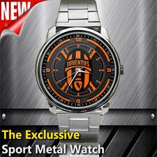 New Item Juventus FC Emblem Logo Custom Sport Metal Watch