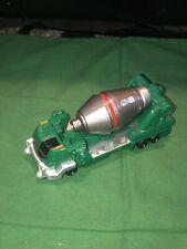 Rare HTF Power Rangers Operation Overdrive Green Ranger Cement Mixer Truck 2007
