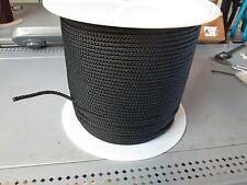"NYLON SEINE TWINE 50' x  3/16""  DIAMOND BRAID Utility Cord FOR  NET  Led Line"