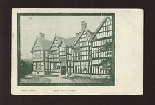 Cheshire AUDLEM Moss Hall early PPC