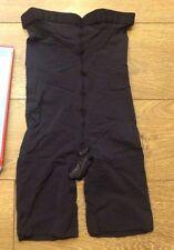 SPANX 409 Higher Power High Waisted Panties sz C (medium) Black NWOT