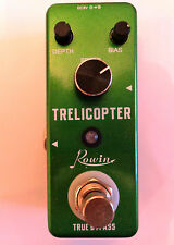Rowin guitar effects pedal, TRELICOPTER (Tremolo effect). True by-pass