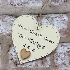 Personalised New Home House warming Gift Plaque Sign New Moving Present