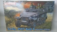 Dragon 6246 1/35 - Sd.kfz.251/1 Ausf.c Rivetted Type
