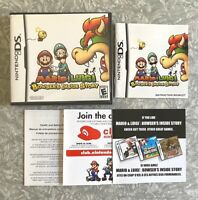 Mario & Luigi Bowser's Inside Story DS Nintendo DS Authentic Complete TESTED