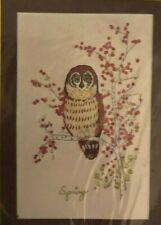 Needlework Plus Crewel Kit - Spring Owl - New, Very Vintage