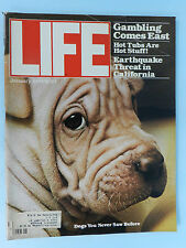 LIFE MAGAZINE JAN 1979 ISSUE~GAMBLING COMES EAST~HOT TUBS~ EARTHQUAKE THREAT CAL