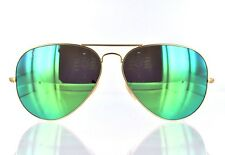 Ray Ban Green Flash Aviator RB3025 112/19 62mm lens size