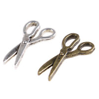 1:12 Dollhouse Miniature Simulation Mini Metal Scissors Model Toys 3C