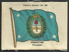 More details for ardath - flags 4th series (silk) - #26 argentine, president