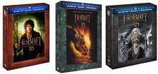 Lo Hobbit Trilogia Versione Estesa 3D (6 Blu-Ray 3D+9 Blu-Ray) cofanetti singoli