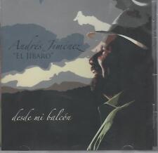 Andres Jimenez El Jibaro/ Desde mi balcon CD