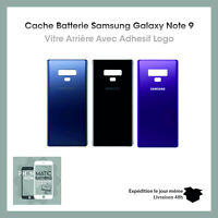 Vitre arrière cache batterie Samsung Galaxy Note 9  Avec logo IMEI + Adhesif