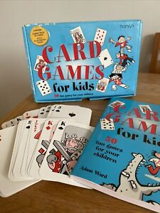 CARD GAMES FOR KIDS INCLUDES JUMBO CARDS AND ILLUSTRATED BOOK