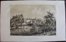 LA VENDÉE, BARON DE WISMES. CHATILLON-SUR-SEVRES , LITHOGRAPHIE 1850.