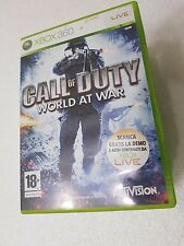 XBOX 360 CALL OF DUTY : WORLD AT WAR - XBOX360 MICROSOFT
