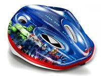 Dino Marvel Avengers Kids Blue Bike Safety Helmet 52 - 56 cm 3 Years+ CASCOAV