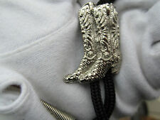Corbata Bolo Bota De Cowboy Diseño desgaste occidental y Rock and Roll