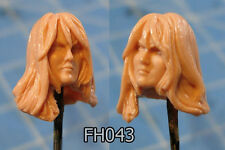"FH043 Custom Cast Sculpt part Female head cast for use with 3.75"" action figures"