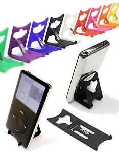 iPod 3rd 4th 5th Generation Touch MP3 Holder BLACK iClip Folding Travel Stand