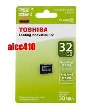 Genuine Toshiba 32GB 32G Micro SDHC SD Card UHS-I Class 10 MicroSD Memory Retail
