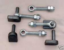 WROUGHT IRON GATE HINGES 16MM