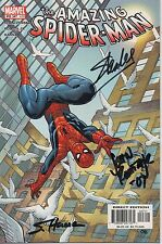 THE AMAZING SPIDERMAN personally multi signed MARVEL comic - STAN LEE
