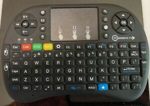 2.4GHZ Wireless 92 quick keys mini keyboard touchpad for PC Android Xbox 360 new
