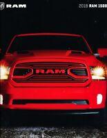 2018 Dodge Ram 1500 Truck 64-page Sales Brochure Catalog - Rebel Night Sport
