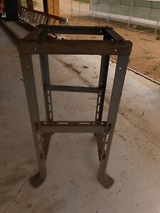 Industrial Table Base 4 legs Antique Loft Vintage Cabin Shop Garage