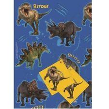 Carta da regalo in rotoli sul dinosauri