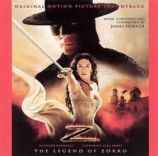 JAMES HORNER - THE LEGEND OF ZORRO [ORIGINAL MOTION PICTURE SOUNDTRACK] (NEW CD)
