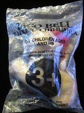 """Taco Bell 1998 """"Feliz Navidad, Amigo"""",Chihuahua in Santa Hat, Plush in a Bag"""