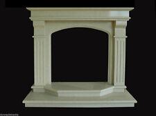 Camino Marmo Interior Classic Design Marble Old Fireplace Stile Classico Impero